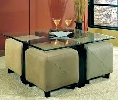 coffee table with stools underneath underneath coffee table round coffee table wood my favorite so far glass coffee table with ottomans coffee table with