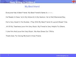 essays on my best friend for children 183 words essay for kids on my best friend preserve articles
