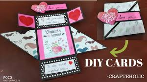 Folded Birthday Card Diy Birthday Cards Handmade Birthday Card Scrapbook Card Ideas Multi Fold Card