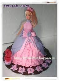 Barbie Cake Biyan Cake