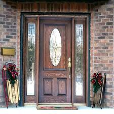 front door with panels front doors with glass side panels front door curtain panel canada