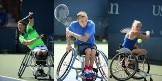 Image result for wheelchair tennis