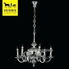 antique brass incandescent hotel lobby chandelier lighting luminaire