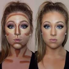 contouring for different face shapes. contouring 101 is listed (or ranked) 1 on the list how to get for different face shapes