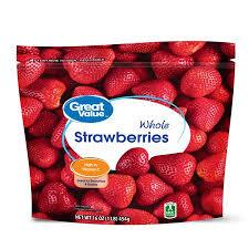 Walmart Massillon Ohio Great Value Frozen Whole Strawberries 16 Oz Walmart Com