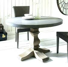 concrete round table concrete patio table and benches