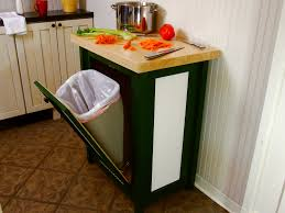 How To Build A Trash Bin With A Butcher Block Countertop How Tos Diy