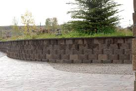Small Picture Segmental Retaining Wall Design Home Design Ideas