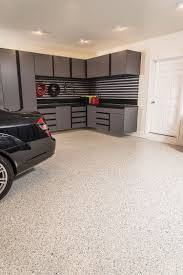 Epoxy flooring garage Matte Dolphin Flake Epoxy Flooring Mastic Masters Epoxy Garage Flooring Garage Experts