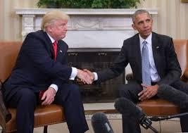 us president barack obama and president elect donald trump shake hands during a transition planning barak obama oval office golds