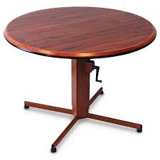 choose from a wide range of table top shapes sizes and edge finish