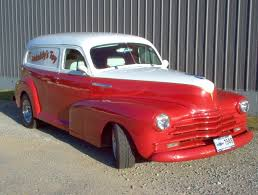 1948 Chevrolet Sedan Delivery - Information and photos - MOMENTcar