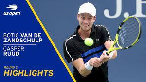 Botic Van De Zandschulp vs Casper Ruud Highlights | 2021 US Open Round 2 -  The Global Herald