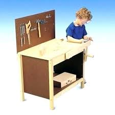childrens wooden workbench tool bench toy plans