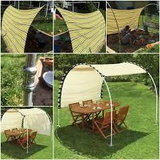 diy adjule sun tracking canopy outdoor