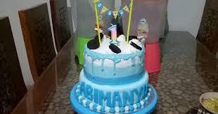 Resep Birthday Cake Fondant Dan Butter Cream Oleh Ayuoctavia Cookpad