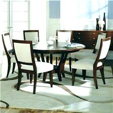 60 inch round pedestal dining table wood with leaf glass