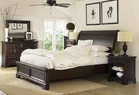 dark furniture bedroom. Neutral Furniture. Bedroom With Dark Wood Furniture Traditional-