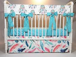Dream Catcher Crib Set Dream catcher Baby Bedding Dream catcher Crib Rail Cover 2