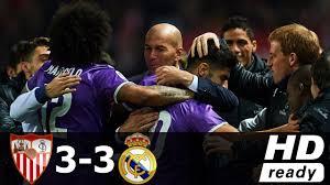 Sevilla vs Real Madrid 3-3 - All Goals & Extended Highlights - Copa ...