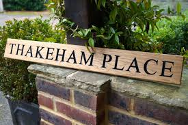 wooden house signs crafted by hand in surrey from makemesomethingspecial com