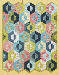 691 best Hexagon Blocks & Quilts images on Pinterest | Jellyroll ... & Preview of the Sizzlin' Sixties Book. Hexagon QuiltingQuilting ... Adamdwight.com