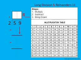 Everyday Math Grade 4 – Lesson 6.2 Long Division - ppt video ...
