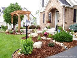 Small Picture Astounding Home Landscaping Ideas Decor Fetching Small Garden