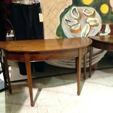 Small Demilune Table Small Table Large Size Of Console Mahogany