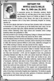 Myrtle Willis | Obituary | Leduc County Market
