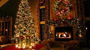 Xmas Decoration For Living Room Christmas Living Room Wallpaper Hd Nomadiceuphoriacom