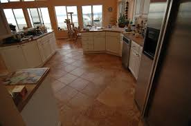 laminate flooring and ceramic tile flooring installations