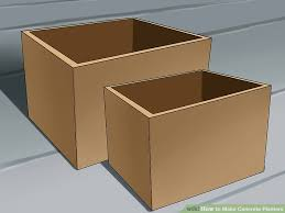 cement planter boxes for sale. Delighful For Image Titled Make Concrete Planters Step 1 Intended Cement Planter Boxes For Sale