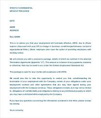 Sample Employee Termination Letter For Cause