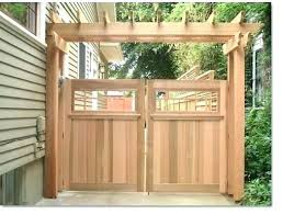 wood gate design for room fence gates creative fences deck or and iron double backyard ideas gallery of fence gate design