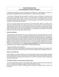 social entrepreneurship essay by thierry alban revert
