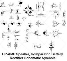 operational amplifier speaker audio bridge rectifier analogue operational amplifier speaker audio bridge rectifier analogue comparotor coils schematic symbols
