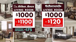 Schewels Living Room Furniture In Store Financing With Schewels Youtube