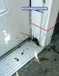 interior door jamb repair door frame repair spectacular garage door frame repair in nice interior decor