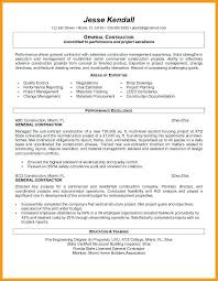 What To Put Under Objective On A Resume General Objectives For A Resumes Cover Letter General Labor Resume 89