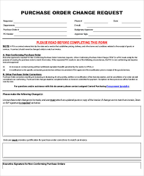 Sample Purchase Order Request Form 8 Examples In Word Pdf