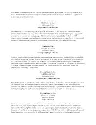 Sample Resume For Flight Attendant Airline Resume Sample Viragoemotion Com