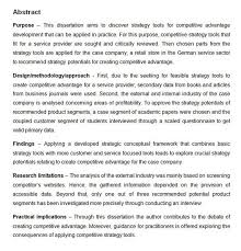 How To Write An Abstract Examples For Your Research Paper