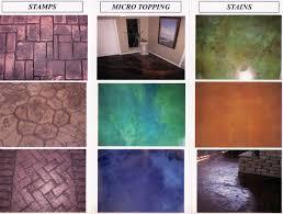 Stamped Concrete Kitchen Floor Decorative Houston Concrete Designs By Coastal Concrete Impressions