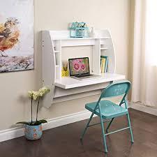 Wall mounted office desk Free Floating Image Unavailable Amazoncom Amazoncom Prepac Wehw02001 Floating Desk With Storage White