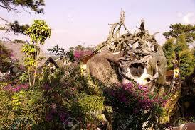 The Crazy House (Hang Nga Tree Villa) In Dalat In Vietnam Stock ...