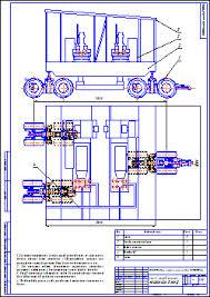 Все работы студента Клуб студентов Технарь  Схема перевозки насосного блока БУ 5000ЭУ Чертеж Оборудование для бурения нефтяных и газовых скважин