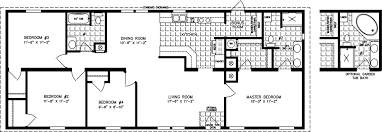Manufactured Home Floor Plan: The Imperial U2022 Model IMP 46021A 4 Bedrooms,  ...