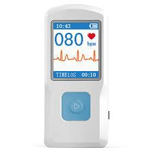 <b>CONTEC</b> PM10 <b>Portable ECG EKG</b> Machine Color Screen ECG ...