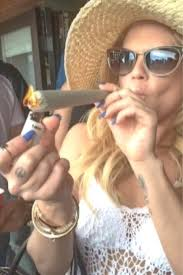 chanel west coast lighting up an ounce joint before going on set ridiculousness